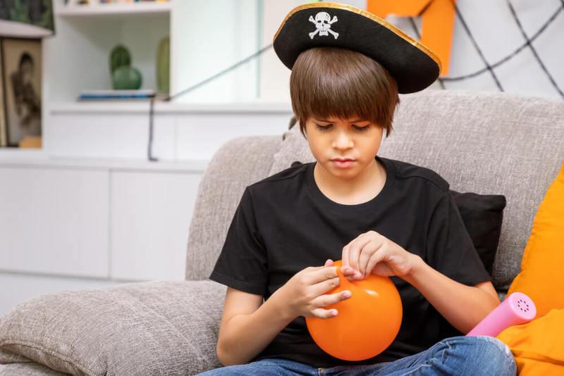 Squishy pirate balloons