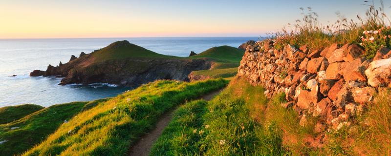 The stunning English coastline