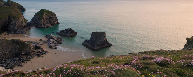 Enjoy spectacular views from the coast paths