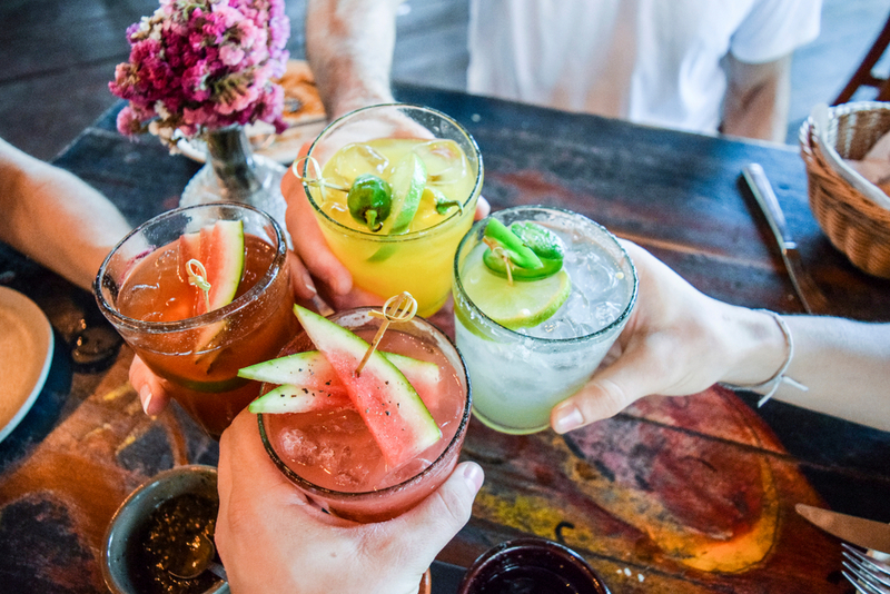 Enjoy delicious cocktails from KaZ Bar