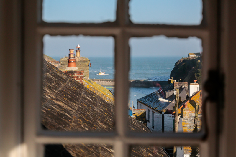Sea views from Hillside Cottage
