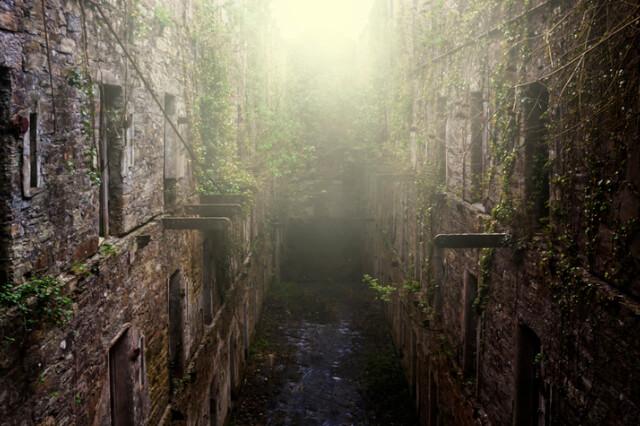 Bodmin Jail in Bodmin, Cornwall.